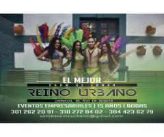 Show Samba Brasileña Bogota - 2019