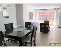 Apartamentos Amoblados en Alquiler Medellín Cód: 4681