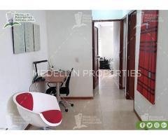Apartamentos Amoblados en Alquiler Medellín Cód: 4680