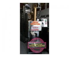 prensa para extraer manteca de cacao