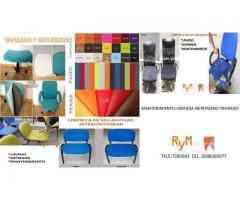 lavado y tapizado de sillas