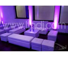 Salas, sillas y mesas para eventos en bogotá