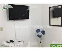 Alquiler Vacacional de Amoblados en Medellín Cód: 4169*
