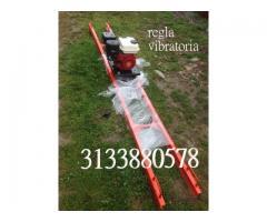Regla vibratoria tipo escalera