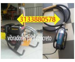 Vibradores para concreto a gasolina eléctricos