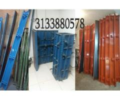 Rieles para pavimento formaleta metálica columna y muro