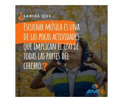 ACADEMIA DE MÚSICA: CLASES DE BATERÍA PARA NIÑOS ENTRE 7 Y 12 AÑOs