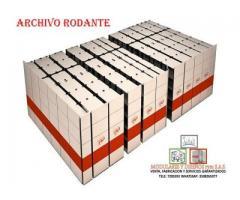 Corregimiento de archivos rodantes