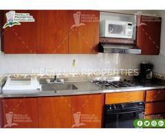 Apartamentos Amoblados en Alquiler en Medellín Cód: 4156