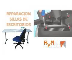 Mantenimiento correctivo para sillas de escritorio