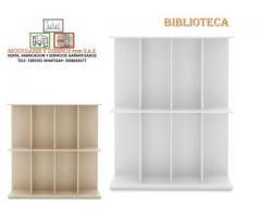 Mantenimiento y venta de biblotecas.