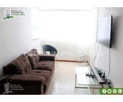 Apartamentos Amoblados en Alquiler Medellín Cód: 4994*