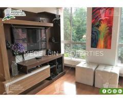 Apartamentos Amoblados en Alquiler en El Poblado Cod: 4986