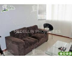 Apartamentos Amoblados en Alquiler en Medellín Cód: 4994