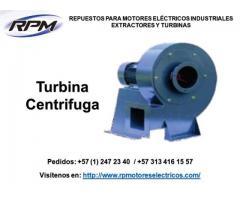 Fabrica de turbinas centrifugas para Colombia