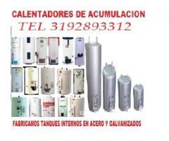 venta de tanques internos de calentadores de acumulacion tel 3174150938