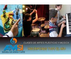 Aprender música -clases desde los cinco años-