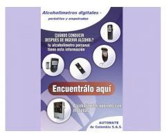 Alcoholimetro Digital Analizador Medidor De Alcohol Bogota