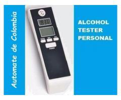 Alcoholimetro Personal Tester Prueba De Alcohol En Sangre