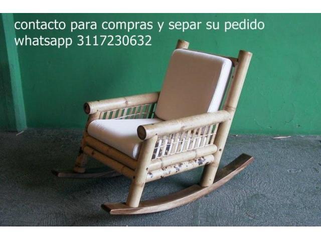 muebles en guadua o muebles campestres - 6/6