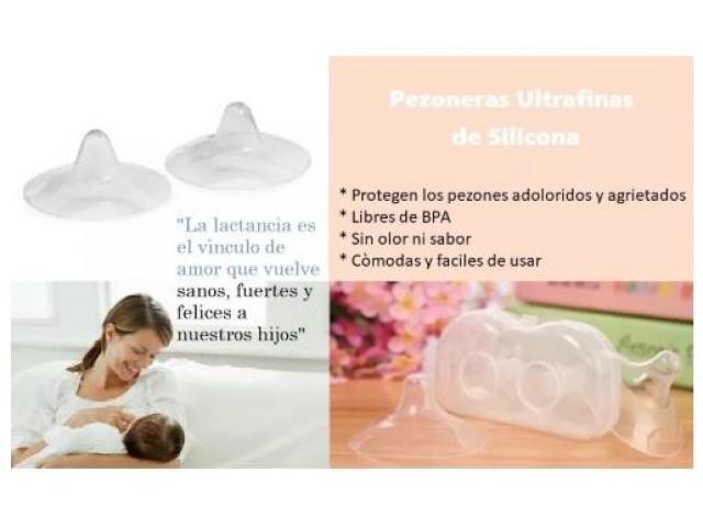 Pezoneras Lactancia Ultrafina De Silicona - 1/3