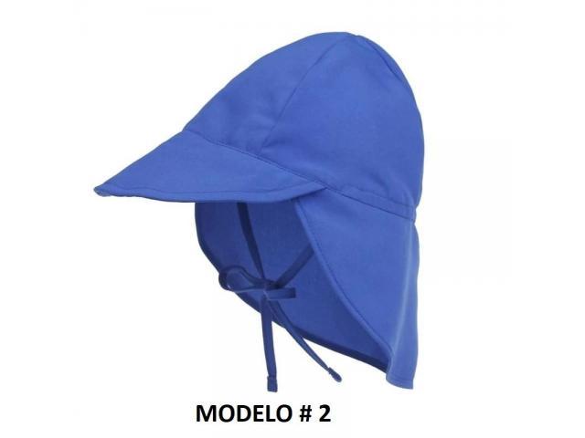 Gorra Flap para niños Proteje Cara,cuello, Orejas. Ajustable - 2/6