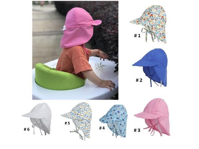Gorra Flap para niños Proteje Cara,cuello, Orejas. Ajustable - 3/6