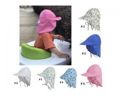 Gorra Flap para niños Proteje Cara,cuello, Orejas. Ajustable