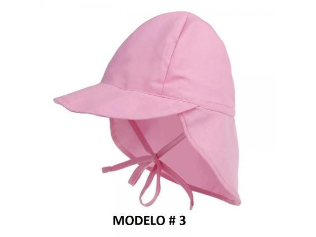 Gorra Flap para niños Proteje Cara,cuello, Orejas. Ajustable - 4/6