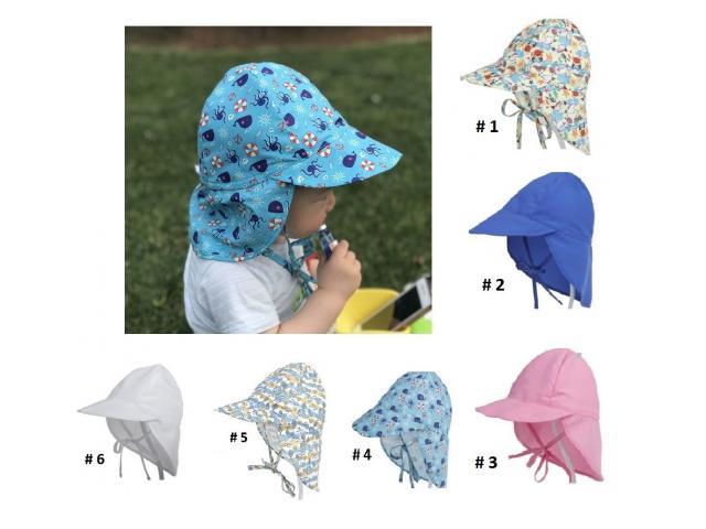 Gorra Flap para niños Proteje Cara,cuello, Orejas. Ajustable - 5/6