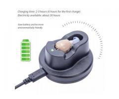 Mini Audifono Amplificador De Sonido Recargable