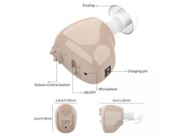 Mini Audifono Amplificador De Sonido Recargable - 2/6
