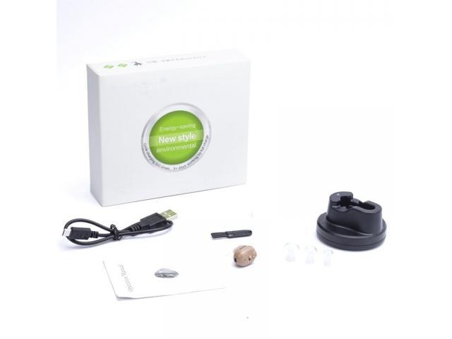 Mini Audifono Amplificador De Sonido Recargable - 5/6