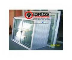 ventanas de aluminio blanco