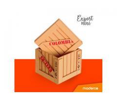 Canasto de madera para pequeños detalles tipo exportacion