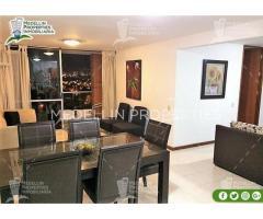 Alquiler Temporal de Apartamentos en Medellín Cód: 4046