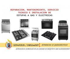Reparacion y Mantenimiento de Estufas Centrales 3185246507