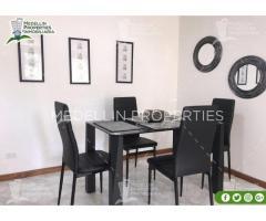 Apartamentos Amoblados Por Mes en Medellín Cód.: 4925*