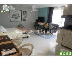 Alquiler Temporal de Apartamentos en Medellin Cód: 4884