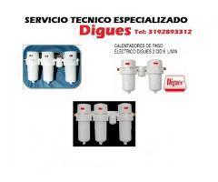 Servicios tecnicos de calentadores digues electricos TEL: 3192893312
