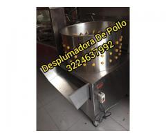 DESPLUMADORA DE GALLINAS ( PELADOR) POLLOS MARCA WORKS STEEL DASF