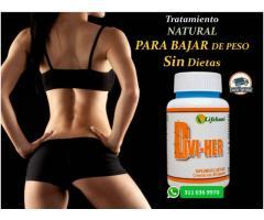 Bajar de peso sin dietas tratamiento natural Divi-Her