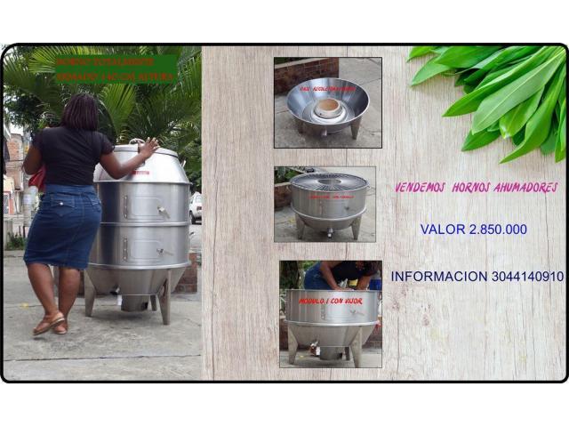 horno ahumador de truchas - 5/6