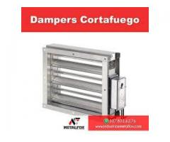 DÁMPERS CORTAFUEGO RF180