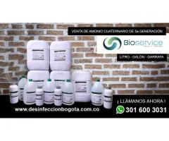 amonio cuaternario de quinta generación en bogotá