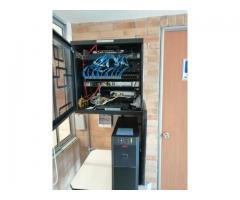 Instalación y mantenimiento de cableado para toda clase de empresas