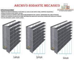AJUSTE SUMINISTRO E INSTALACIÓN DE ARCHIVO RODANTE