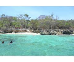 Vendo terreno espectacular isla Baru-Cartagena