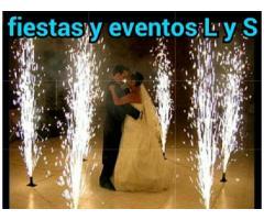 Alquiler pólvora fría bodas