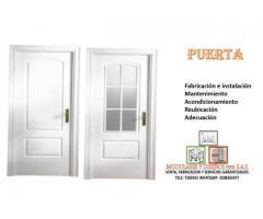 suministro y mantenimiento de puertas